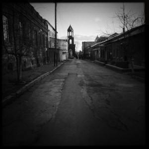 street in Gyumri
